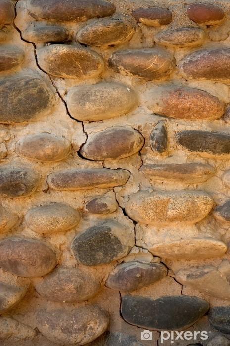 Fototapeta winylowa Riverrock fundament ściany - Zabytki