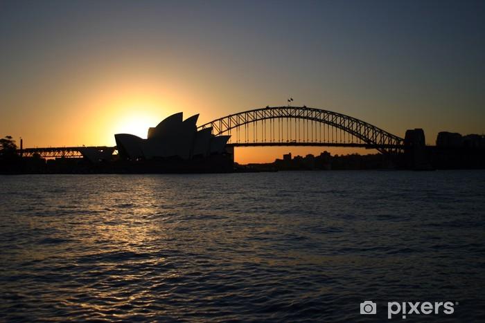 Papier peint vinyle Sydney Harbour .. - Thèmes