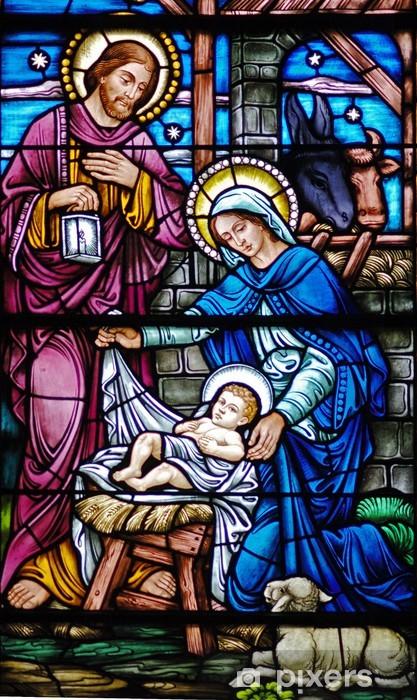 Pixerstick Sticker Glas in lood weduwe van geboorte - Thema's