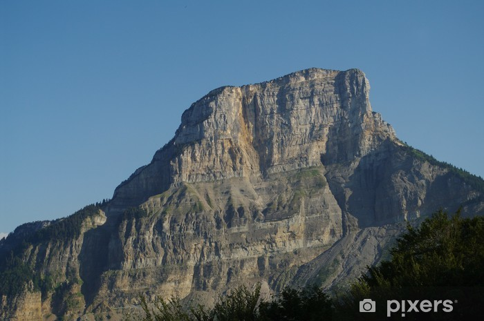 Fototapeta winylowa Montagne du Granier, Sabaudia - Alpy Françaises - Wakacje