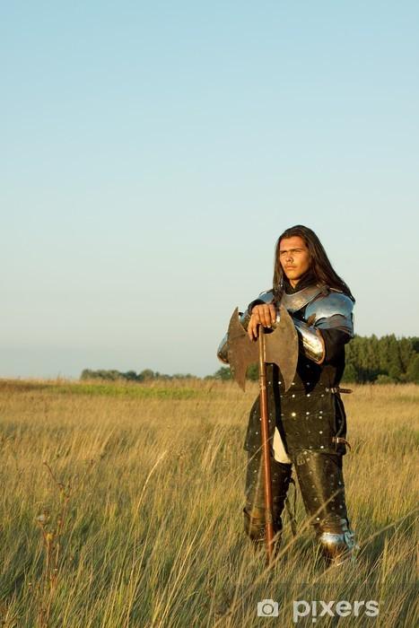 Naklejka Pixerstick Średniowieczny rycerz - Życie
