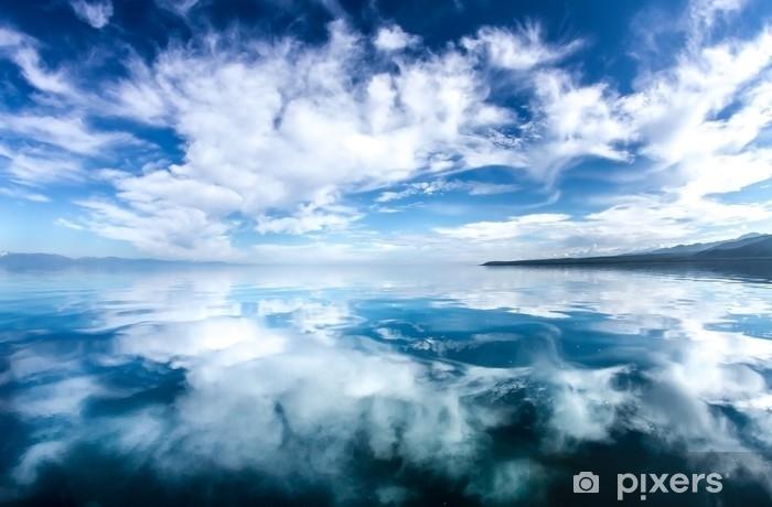Fotomural Estándar Reflejo de las nubes en el mar - Paisajes