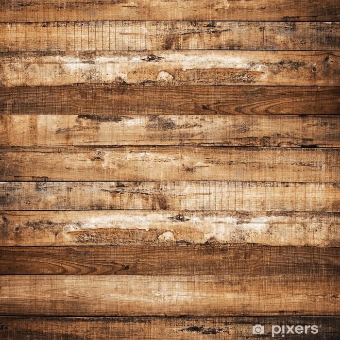 Vinyl Fotobehang Houten plank achtergrond - iStaging