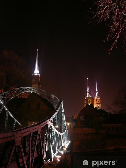 Nálepka Pixerstick Wroclaw v noci 2 - Témata