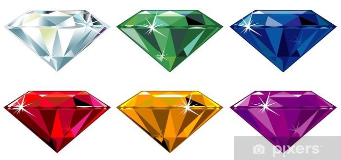 070d2c5ac44e49 Fototapeta winylowa Kamieni szlachetnych z sparkle - Sukces i osiągnięcia