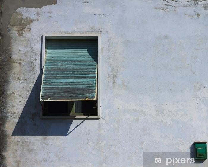 Papier peint vinyle Boîte aux lettres et fenêtre - architecture italienne (pesaro, italie) - Bâtiments et architecture