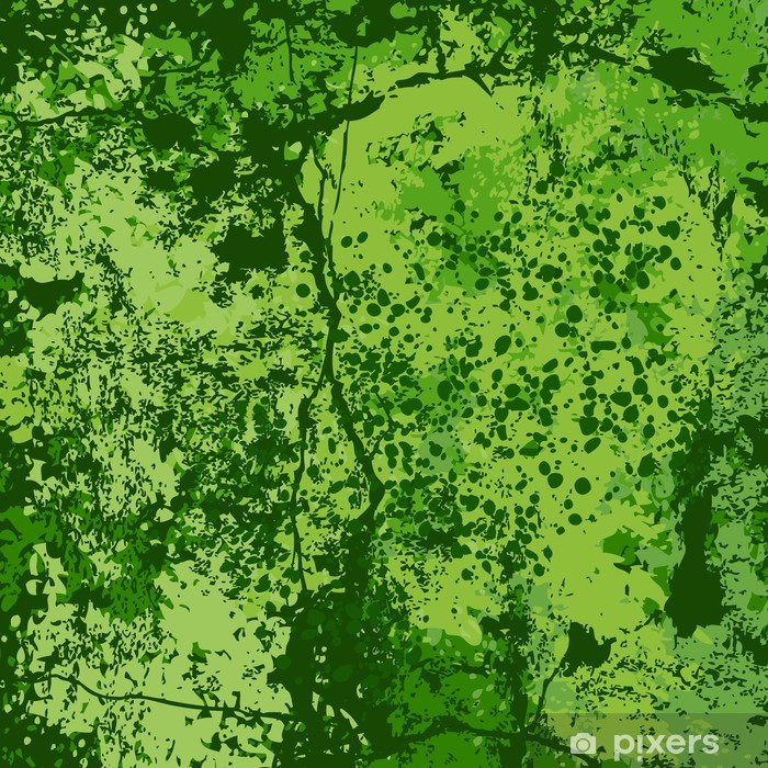 Vinyl Fotobehang Groene grunge achtergrond vector - Thema's