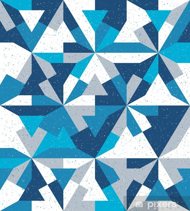 Tvättbar Fototapet Abstrakt sömlöst mönster i stil med grunge. små partiklar. - Grafiska resurser