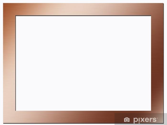 Hypermoderne Kobber ramme Fototapet • Pixers® - Vi lever for forandringer WN-46