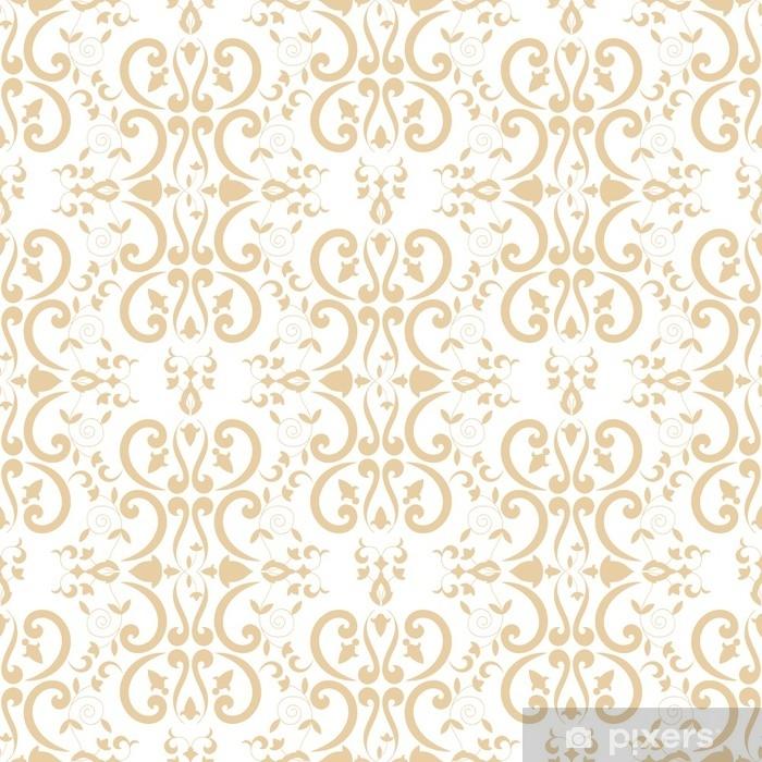 Baroque Floral Pattern Vector Seamless Damask Luxury Background Texture Vintage Flower Ornament Design For