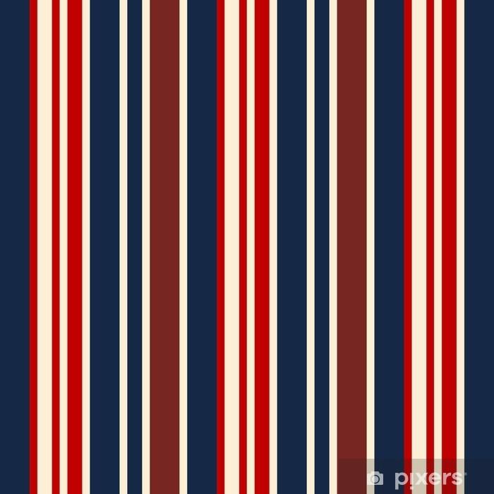 65660f45 Fototapet av vinyl Stoff retro usa farge stil sømløse striper mønster.  abstrakt vektor bakgrunn.