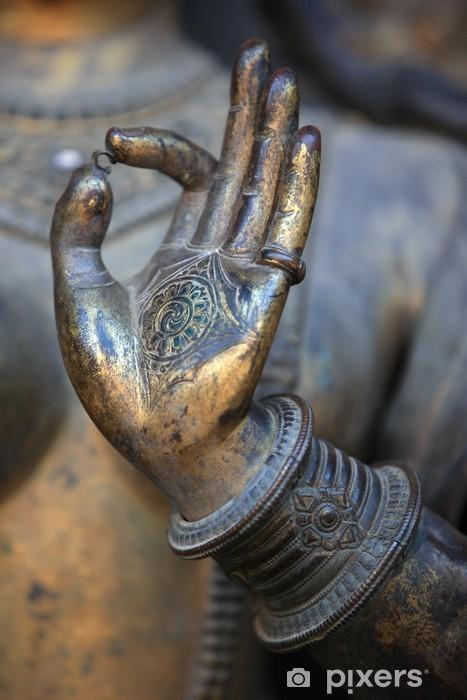 Papier peint vinyle Main bouddha - Thèmes