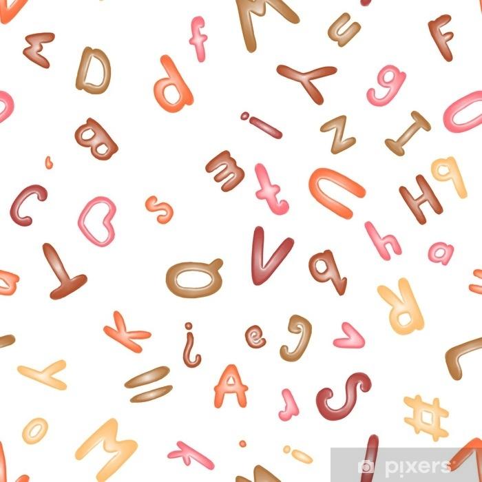 Rideau Occultant Modele Sans Couture Avec Un Alphabet De Pate A Modeler Fond D Ecran Ou Textile Pixers Nous Vivons Pour Changer