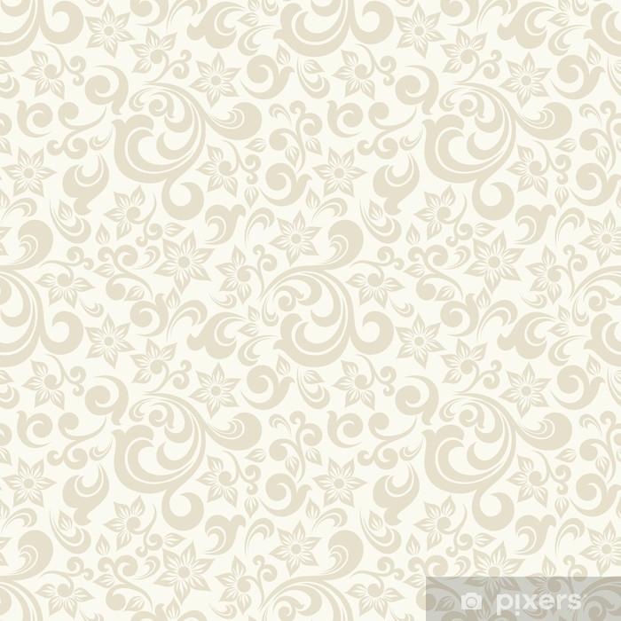 Carta Da Parati Stile Barocco.Carta Da Parati Sfondo Chiaro Senza Soluzione Di Continuita Con Pattern Beige In Stile Barocco Illustrazione Vettoriale Retro Ideale Per La Stampa Su Tessuto O Carta Pixers Viviamo Per Il Cambiamento