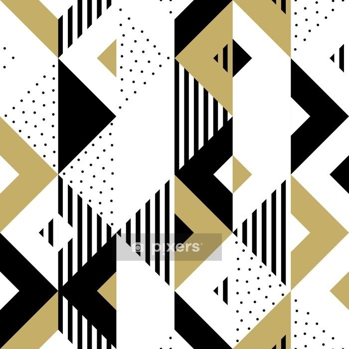 Abstrait Taie d/'oreiller vitrail-Géométrie Motif recto verso