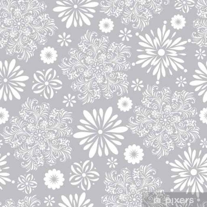 Plakat Kwiatowy wzór - Rośliny i kwiaty
