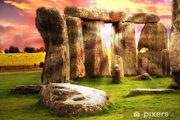 Nálepka Pixerstick Fantasy Stonehenge - Nebe