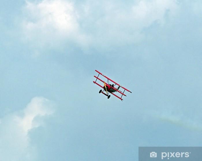 Papier peint vinyle Le baron rouge - Dans les airs