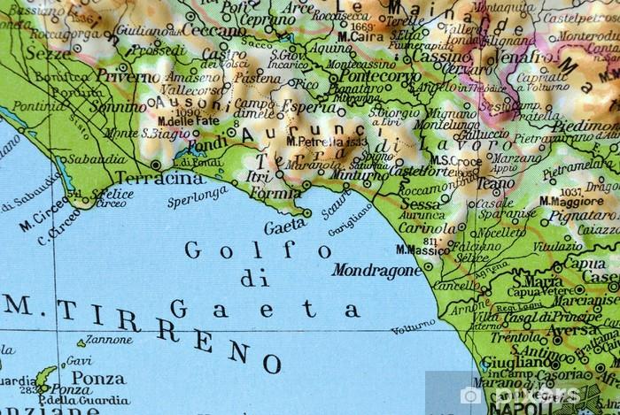 Cartina Geografica Toscana E Lazio.Adesivo Cartina Geografica Del Lazio Golfo Di Gaeta Pixers Viviamo Per Il Cambiamento