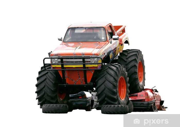 Fototapeta winylowa Monster Truck - Gniew