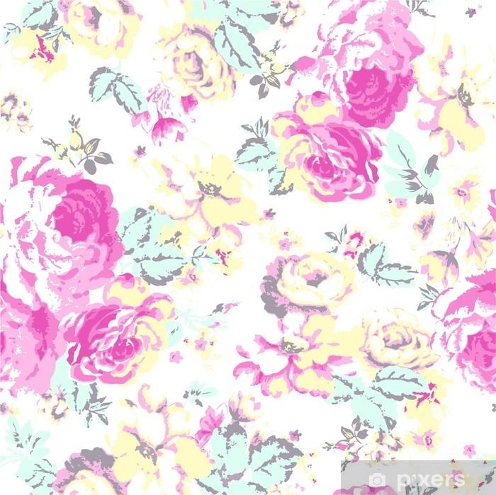 Plakát Květinový vzor - Rostliny a květiny