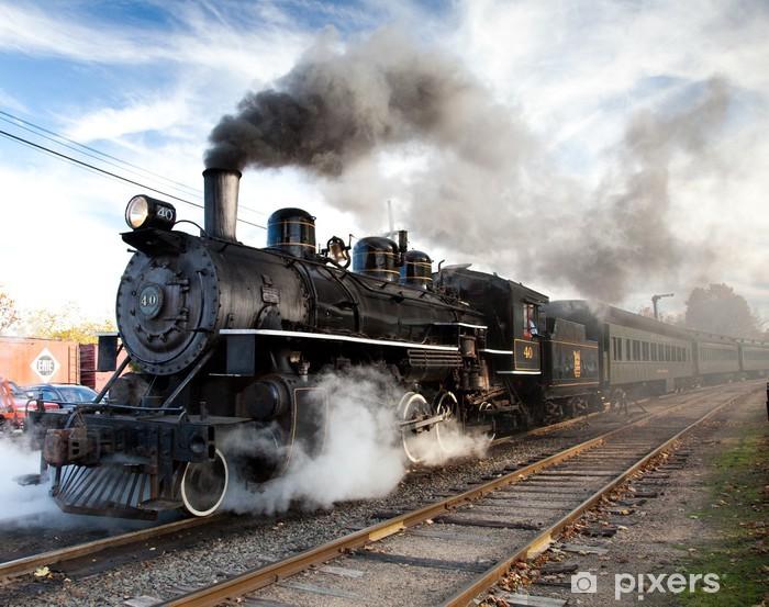 Papier peint vinyle Essex steam train - Thèmes