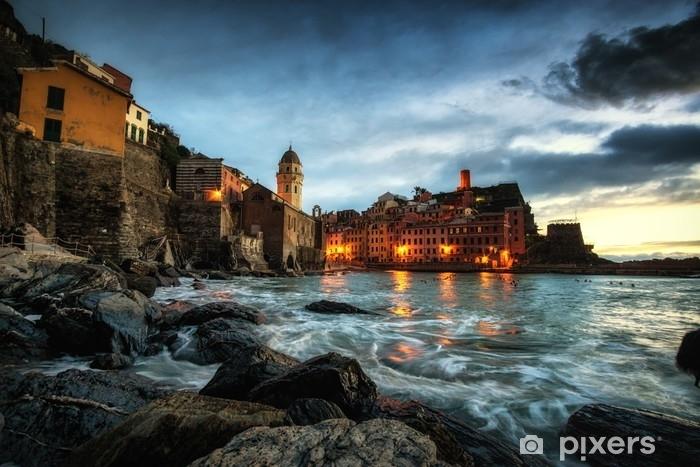 Fototapeta winylowa Włoski zachód słońca - Podróże