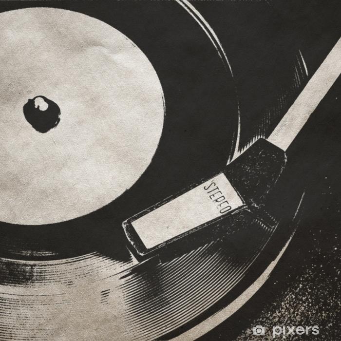 Fototapeta winylowa Rocznika muzyczne tło - Hobby i rozrywka