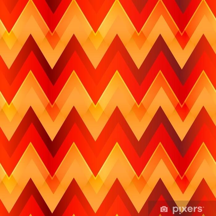 Papier peint Modèle sans couture de couleur chaude zigzag • Pixers ...