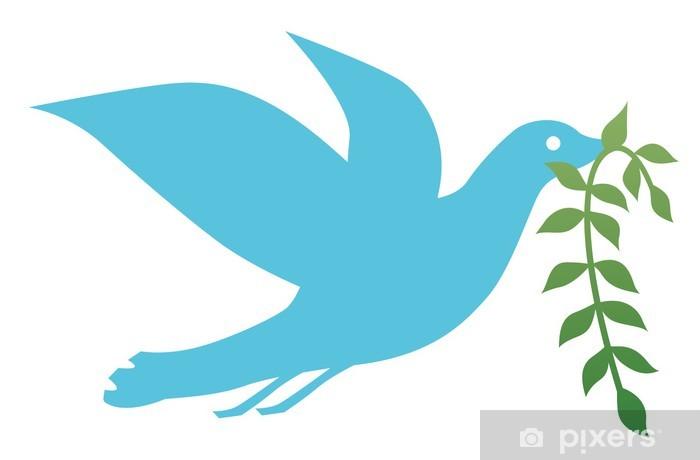 Sticker Pixerstick Pigeon - Oiseaux