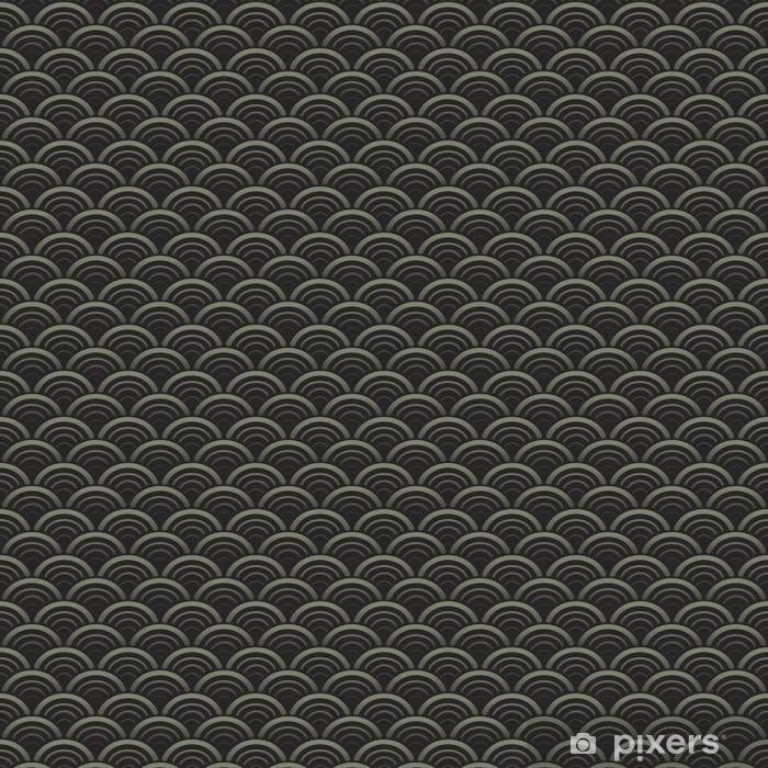 Vinylová fototapeta Orientální vlny bezešvé vzor - Vinylová fototapeta