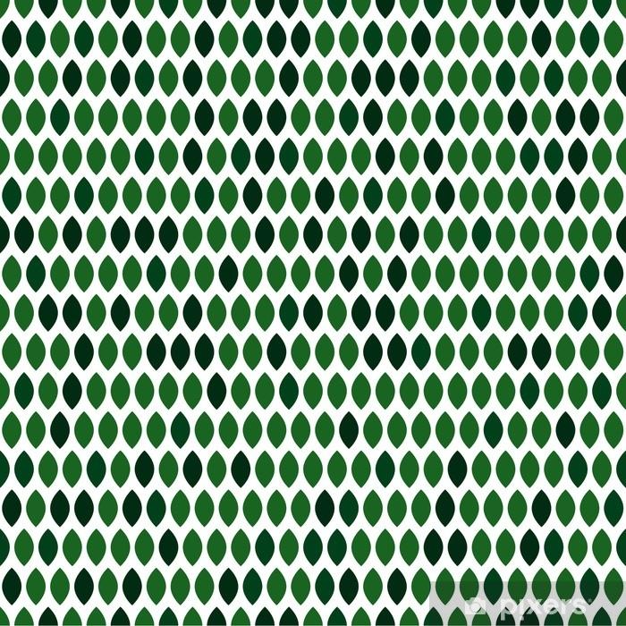 Pixerstick Aufkleber Vektor Hintergrund mit grünen Blättern - Grafische Elemente