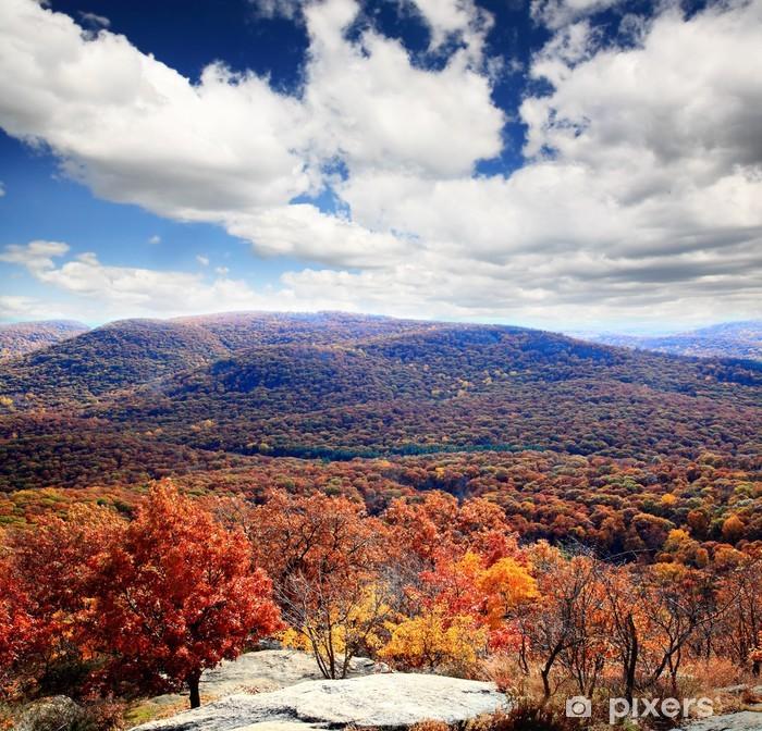 Poster Le paysage feuillage du haut de Bear Mountain - Saisons