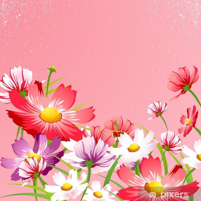 Flower Background 14 Poster - Criteo
