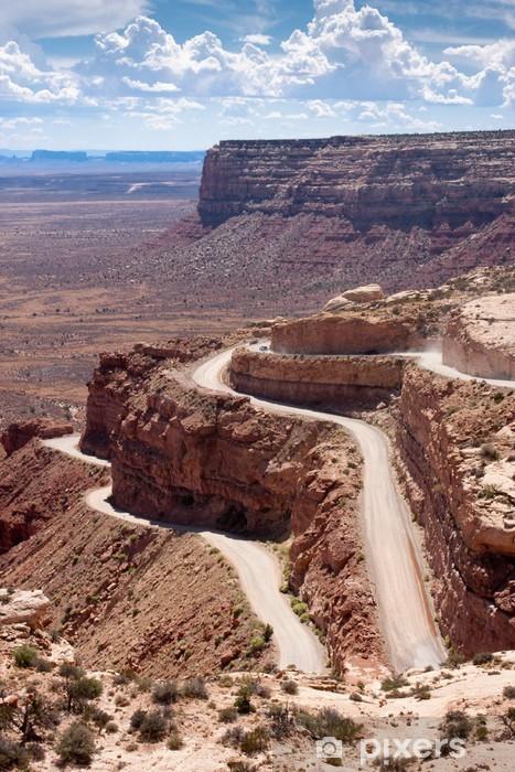 Nálepka Pixerstick Tobogán Road volal Moki Dugway - Amerika