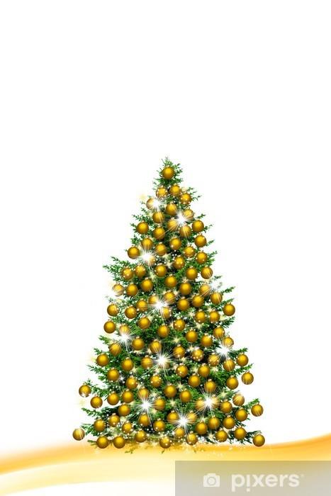Foto Weihnachtsbaum.Weihnachtsbaum Sticker Pixerstick