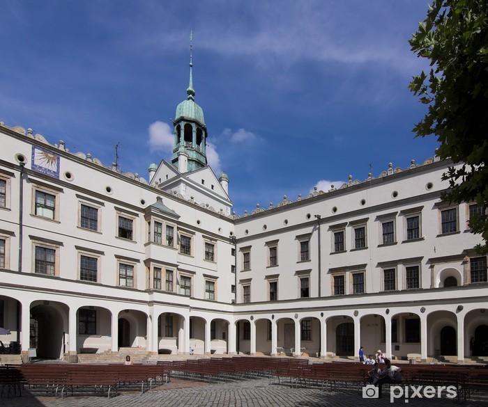 Fototapeta winylowa Szczecin - Zamek (wewnątrz kwadratu) - Polska - Tematy