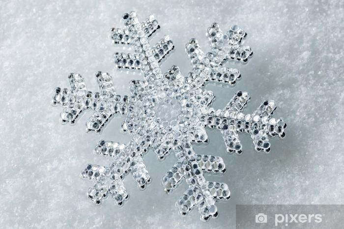 Papier peint vinyle Flocon de neige - Fêtes internationales