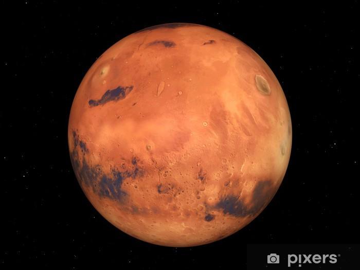 Naklejka Pixerstick Które mars - Przestrzeń kosmiczna