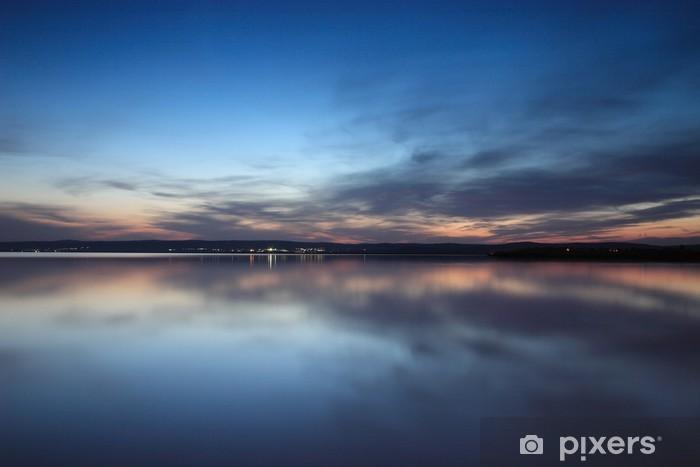 Naklejka Pixerstick Światła na horyzoncie (light version) - Woda