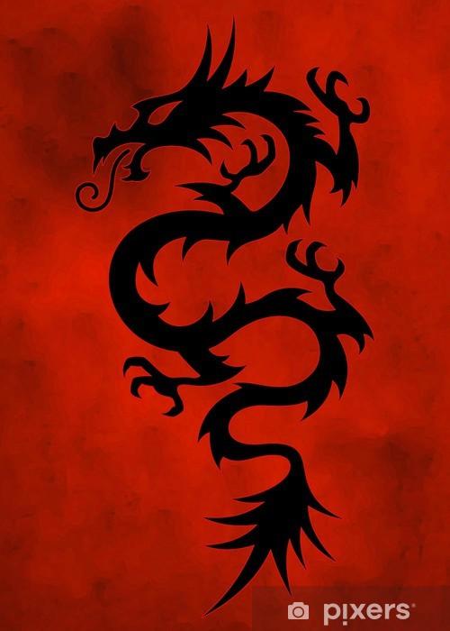 Papier peint vinyle Dragon - Thèmes