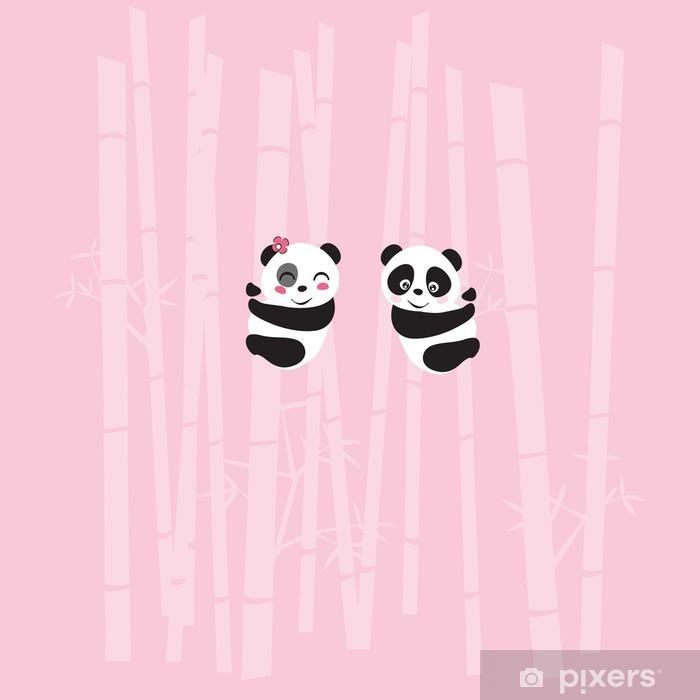 Poster Panda - Internationale Feste