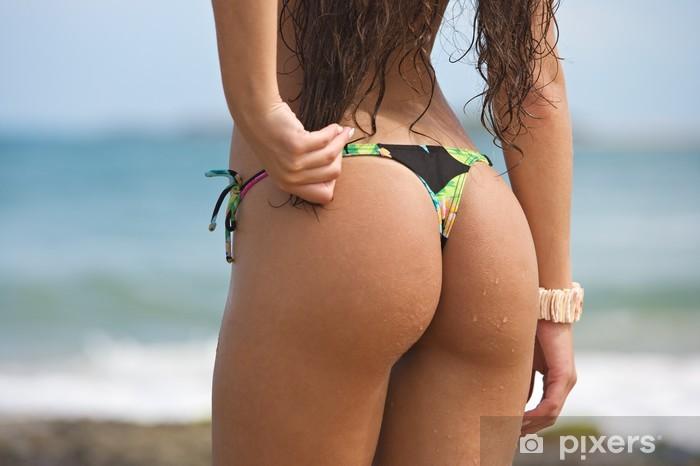 Event G string bikini on the beach