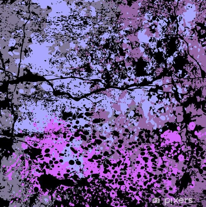 Vinyl Fotobehang Grunge abstracte vector achtergrond - Thema's
