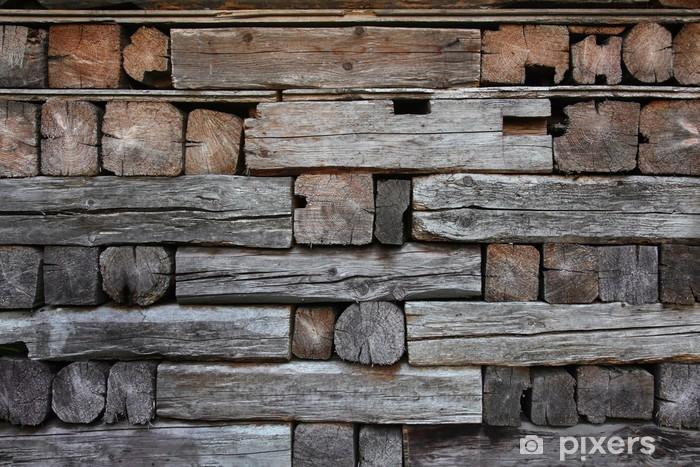 Naklejka Pixerstick Seria Tekstury: drewniane deski detal - Sprzedaż