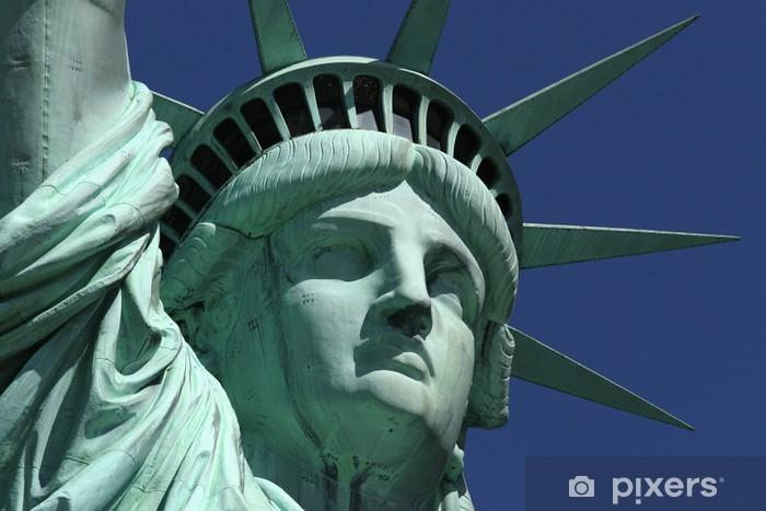Vinyl-Fototapete Miss Liberty - Urlaub