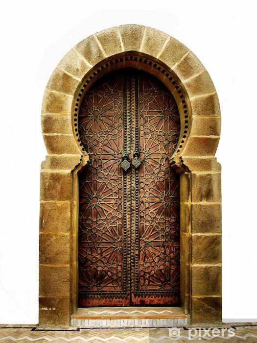 Fotomural Estándar Marroquí puerta - iStaging