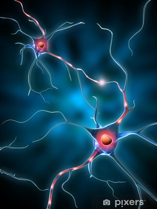 Papier peint vinyle Réseau de neurones - Santé et médecine