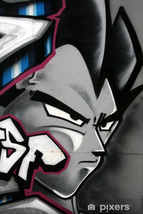 tag de personnage en couleur Vinyl Wall Mural - Themes
