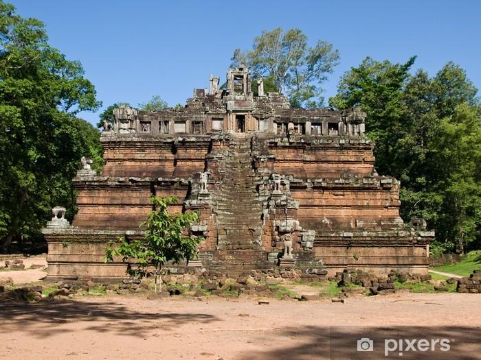 Naklejka Pixerstick Starożytnej świątyni - Azja